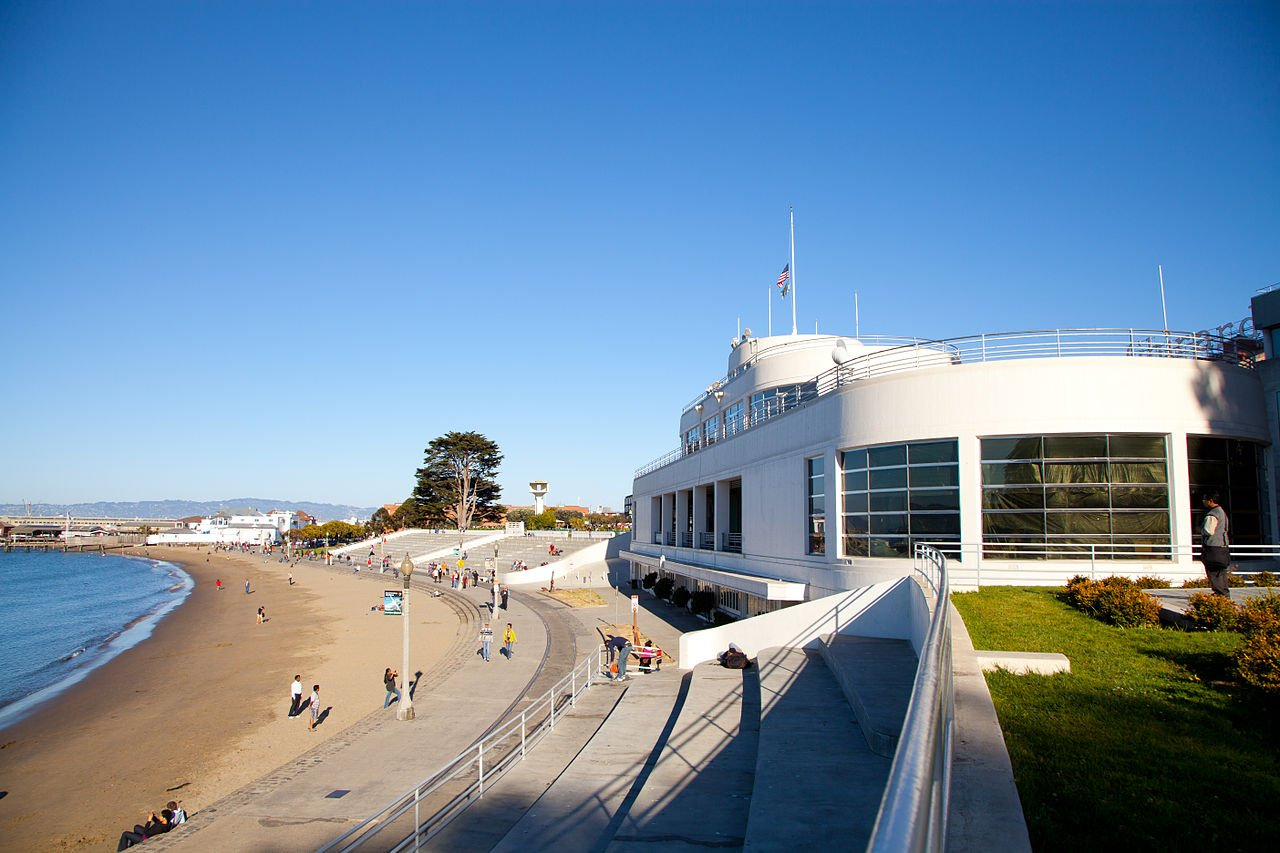 aquatic park historic district beach
