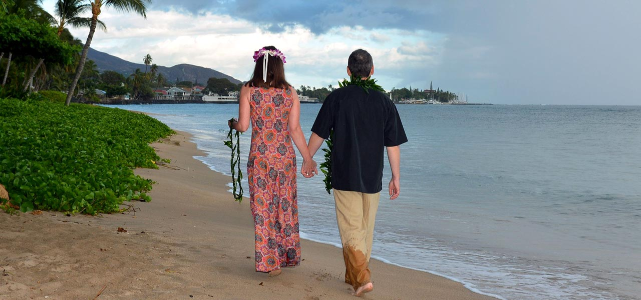 Romantic Destination for the newlywed - Hawaii