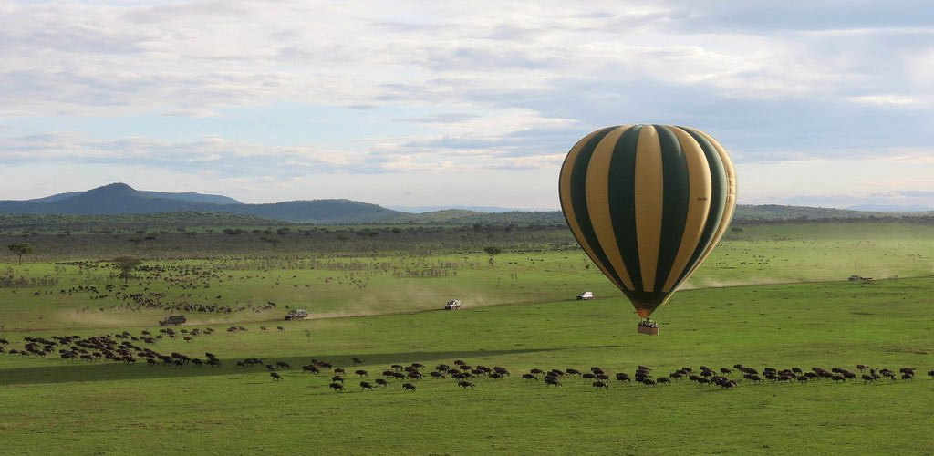 Serengeti Hot Air Balloon Safari
